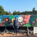 Fresnes sur Escaut - Festival des Agités - 8mX1m40 - 2021
