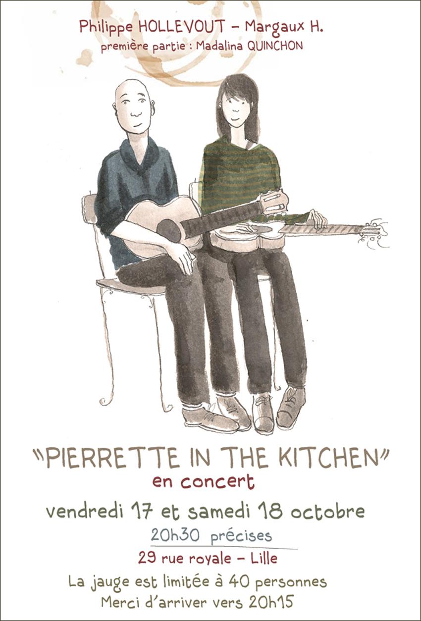 Pierrette à Lille