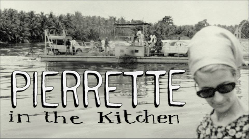 Pierrette in the kitchen